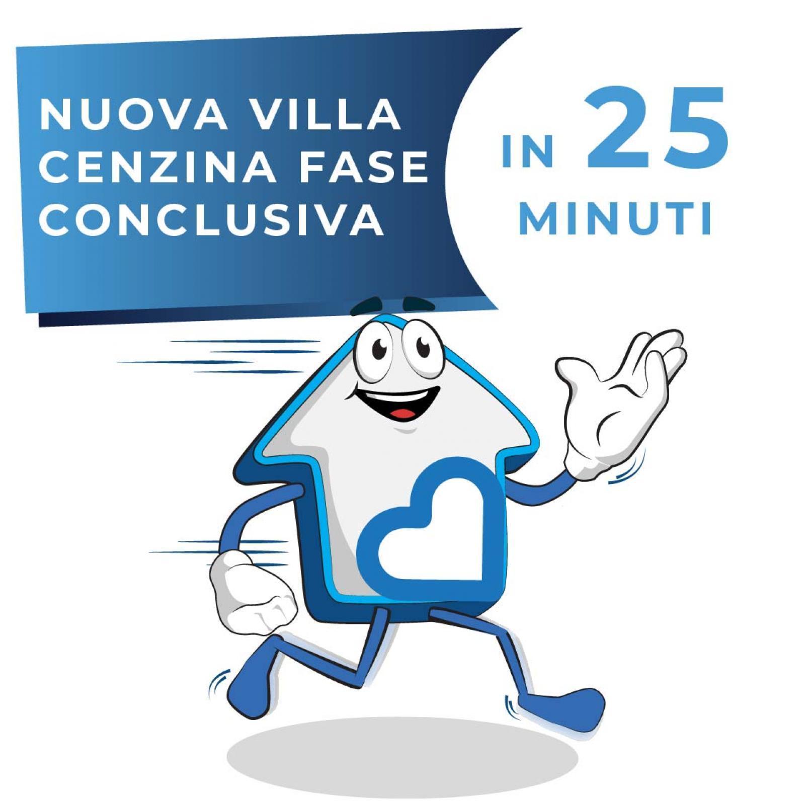 Nuova villa Cenzina fase conclusiva